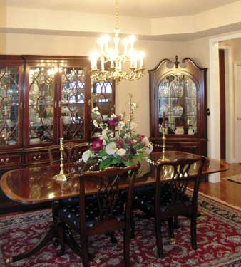 Dining Room With Two Hutches