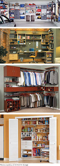 Organized Shelving For Your House