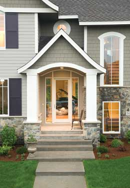 Front Entry Ideas home entry ideas - house plans and more