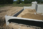 Concrete Foundation for Home