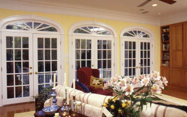 southern style classic french doors