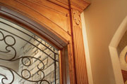 window trim style for home plan