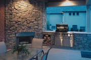 House Plan Outdoor Kitchen