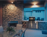 Stylish Outdoor Kitchen
