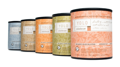 YOLO Colorhouse Paint is a low VOC paint