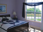 Violet Bedroom Interior Decor