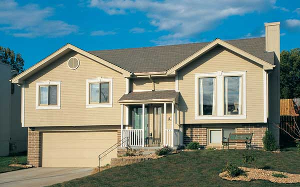 Raised ranch homes house plans and more for Modern raised ranch house plans