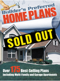 builder's preferred home plans book - house plans and more