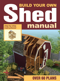 Build your own shed manual book house plans and more for Build your own barn house