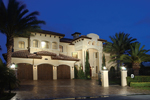 Video Thumbnail of Mediterranean Style Home with Captivating European Sunbelt Style and Colorful Exteriors