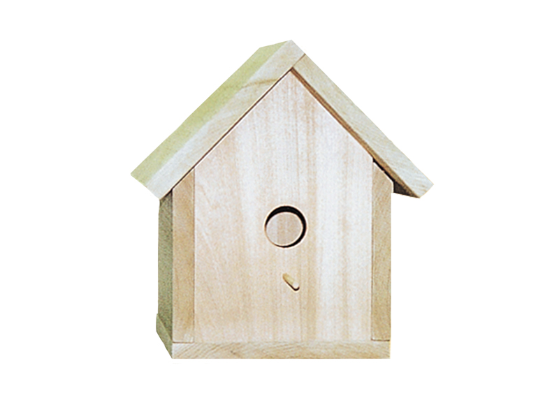 Traditional Plan Front of Home Traditional Bird House