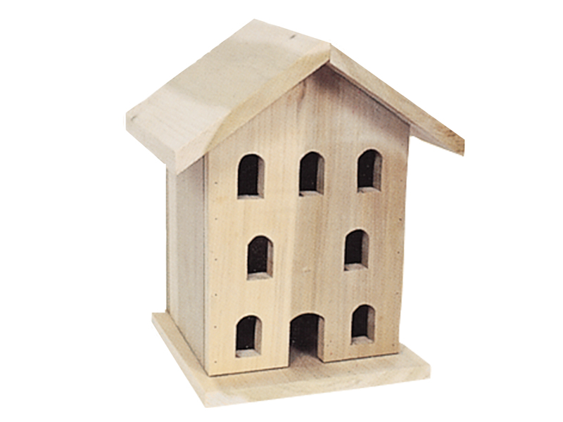 Building Plans Front of Home Victorian Bird House