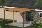This simple patio cover promises less sun exposure and easy installation