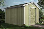 Gable storage sheds can be adapted to the size you need