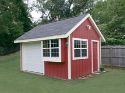 Shed plans barns kids playhouses house plans and more for Storage shed and playhouse combo
