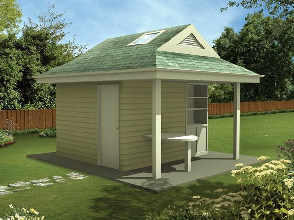 Back Yard Cabana Plans httphouseplansandmorecomprojectplans