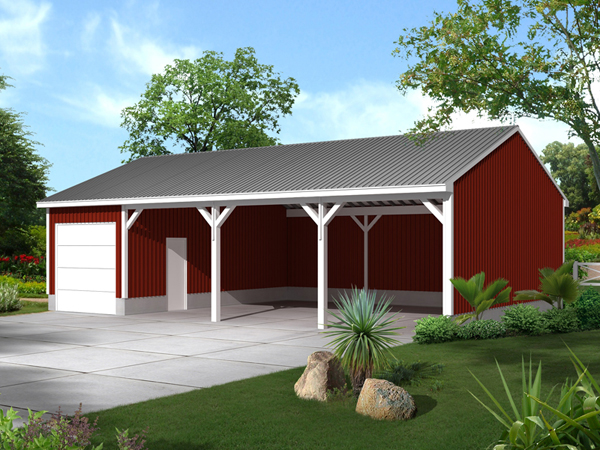 Building a Pole Barn House - Modern Homesteading - MOTHER EARTH NEWS