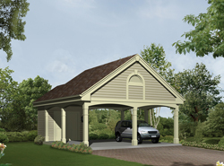 Carport plans standing free download pdf woodworking for Free standing carport plans
