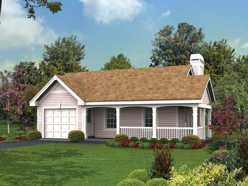 Building Plans Front of Home 009D-7512 | House Plans and More