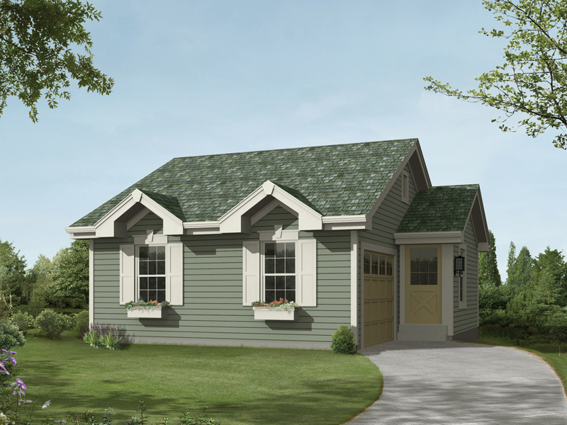 Building Plans Front of Home 009D-7520 | House Plans and More