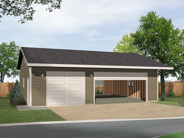Three car garage plans house plans for Home designs 3 car garage