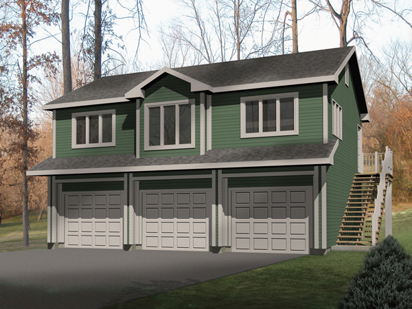 3 CAR GARAGE PLANS APARTMENT House Plans Home Designs – 3 Car Garage Plans With Loft