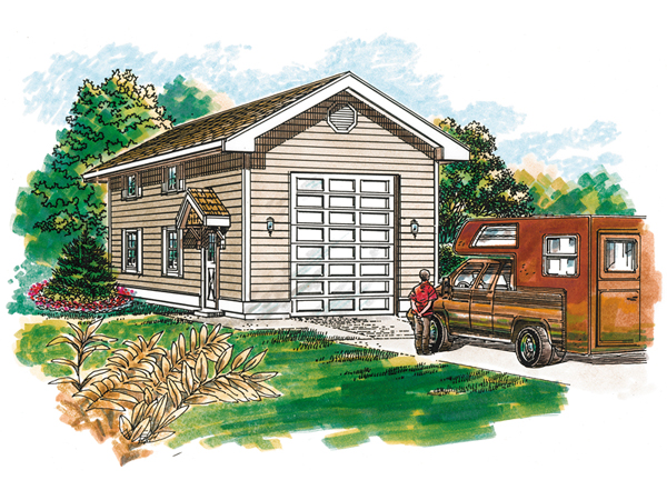 House Plans With Motorhome Garage