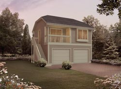 Apartment Garage Plans | House Plans and More