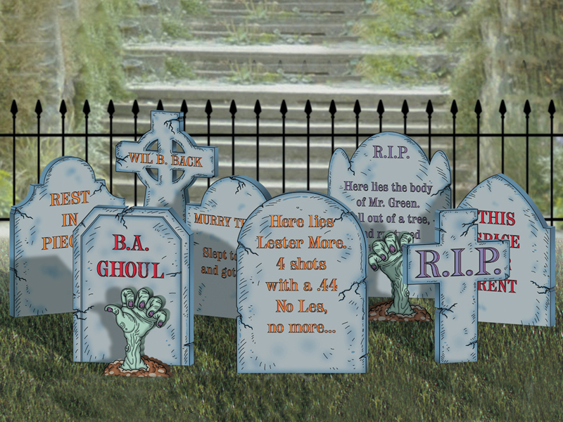 Traditional Plan Front of Home Create-A-Graveyard
