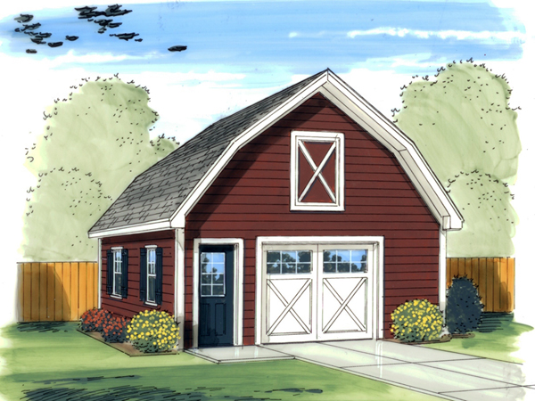 Brandy Barn Style Garage Plan 125d 6010 House Plans And More