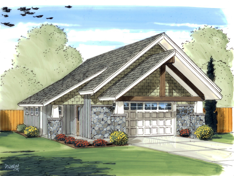 Traditional Plan Front of Home 125D-6012 | House Plans and More