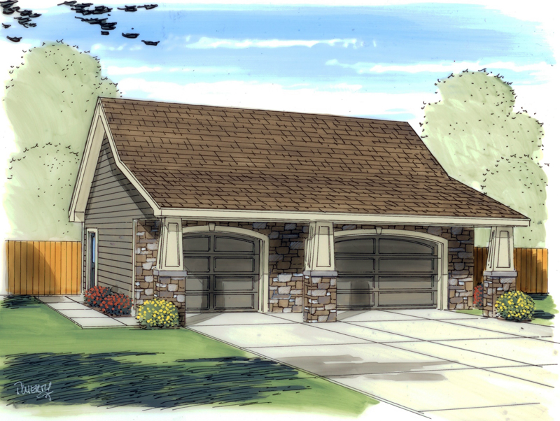 Traditional Plan Front of Home 125D-6013 | House Plans and More