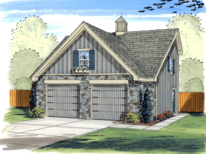 Traditional Plan Front of Home 125D-6015 | House Plans and More