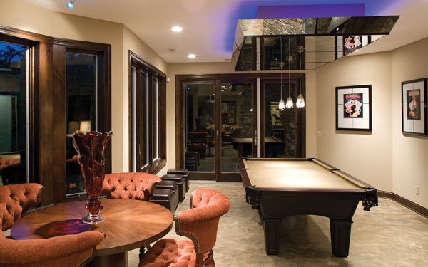 Billiards room ideas house plans and more for All room decoration games