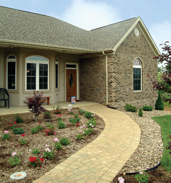 Stone Walkway Ideas - House Plans and More