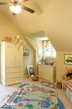 soothing children's playroom