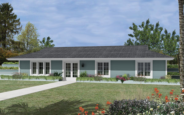 Berm home designs efficient homes house plans and more for Berm home