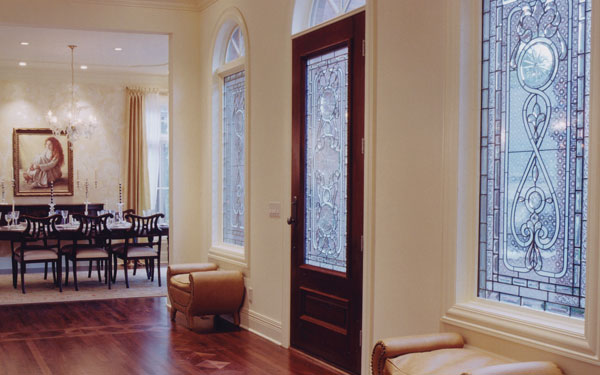 Decorative windows house plans and more for Decorative window film stained glass victorian