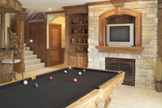 luxurious billiards room thumbnail