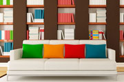stylish bookcase thumbnail