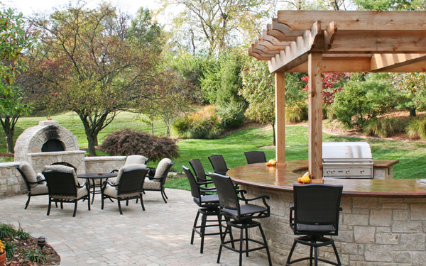Outdoor Dining Style House Plans And More
