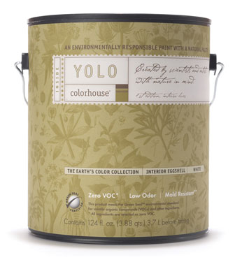 low VOC paint can