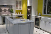 thumbnail of yellow walled kitchen