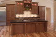 thumbnail kitchen with wood floor